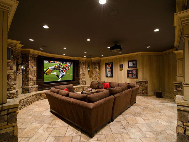 Geek Culture: Top 20 Examples Of Geek Living Rooms -6