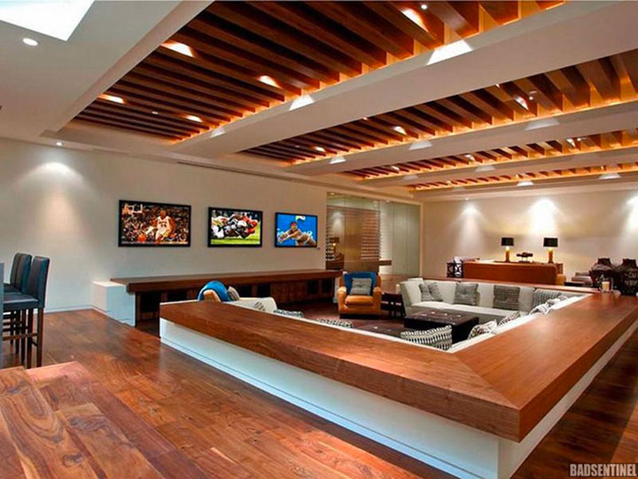 Geek Culture: Top 20 Examples Of Geek Living Rooms -8