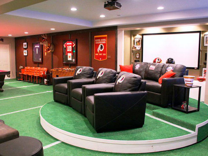 Geek Culture: Top 20 Examples Of Geek Living Rooms -9
