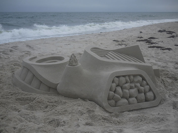 Geometric Sand Castles That Are True Architectural Masterpieces -12