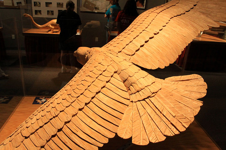 Gigantic Sculptures Made Using Simple Matchsticks-10
