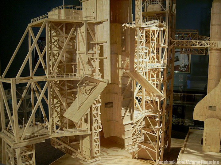 Gigantic Sculptures Made Using Simple Matchsticks-5