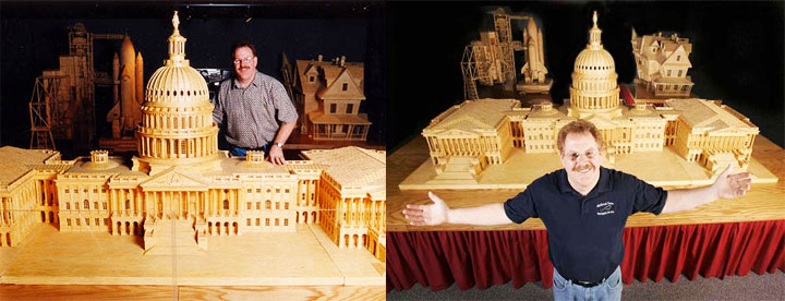 Gigantic Sculptures Made Using Simple Matchsticks-9