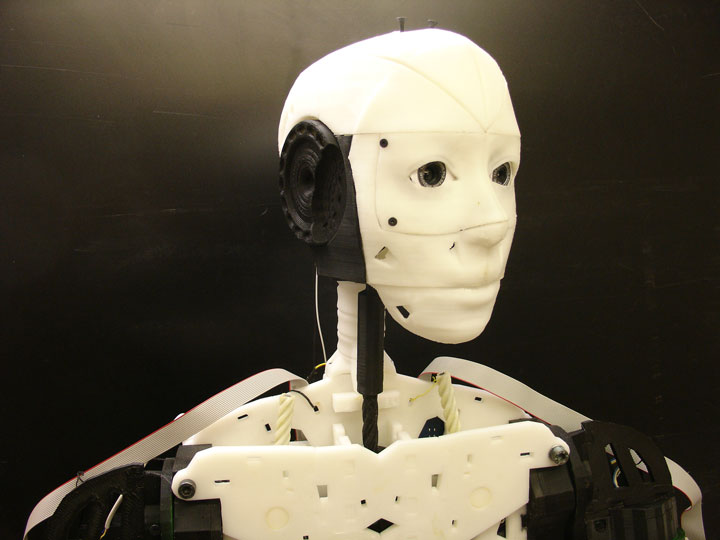 Inmoov: The First Humanoid Robot That You Can Print At Home Using 3D Printer-3