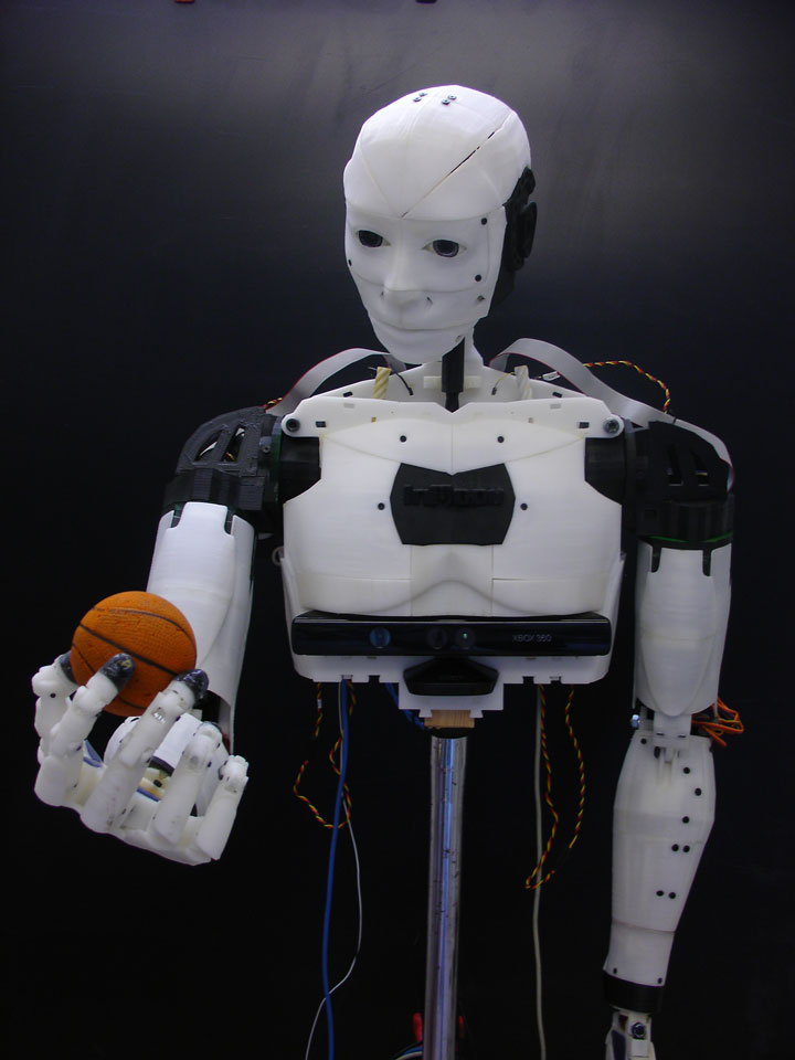 Inmoov: The First Humanoid Robot That You Can Print At Home Using 3D Printer-8