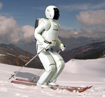 Robots now are skiing and majoring in sports