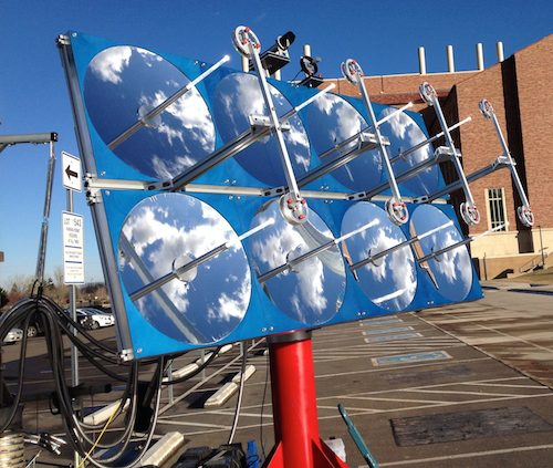 Solar Toilet made by Colorado Boulder University in India-