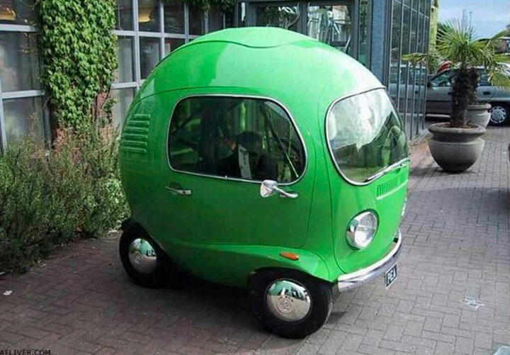 The pea car-20 Completely Strange And Original Cars For The Roads (Photo Gallery)-12
