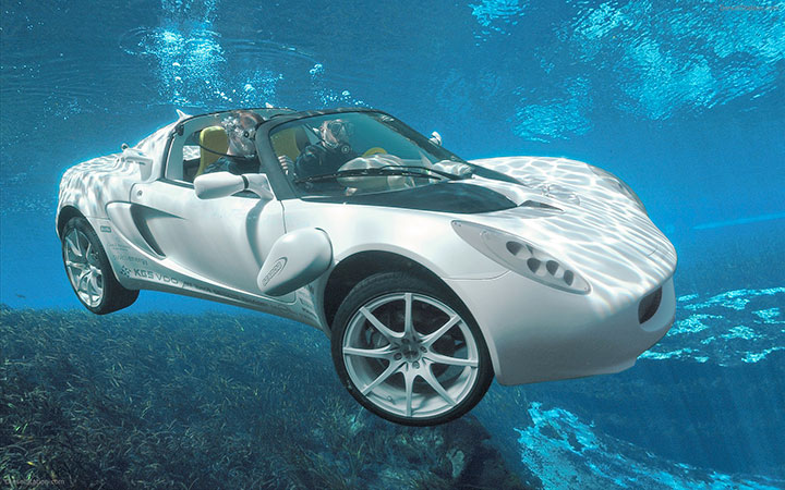 The amphibious car-20 Completely Strange And Original Cars For The Roads (Photo Gallery)-2