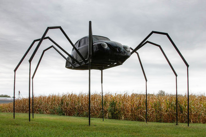 The spider car-20 Completely Strange And Original Cars For The Roads (Photo Gallery)-5