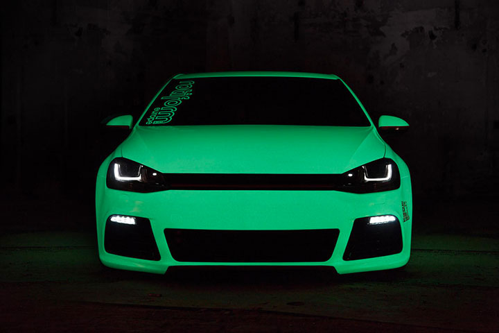The phosphorescent car-20 Completely Strange And Original Cars For The Roads (Photo Gallery)-6