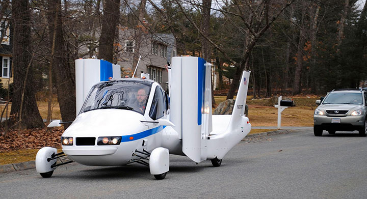 The airplane car-20 Completely Strange And Original Cars For The Roads (Photo Gallery)-8
