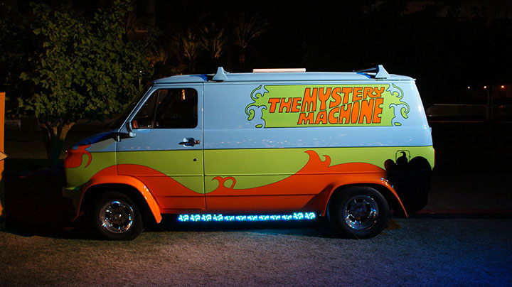 The Scooby-Doo Car-20 Completely Strange And Original Cars For The Roads (Photo Gallery)-9