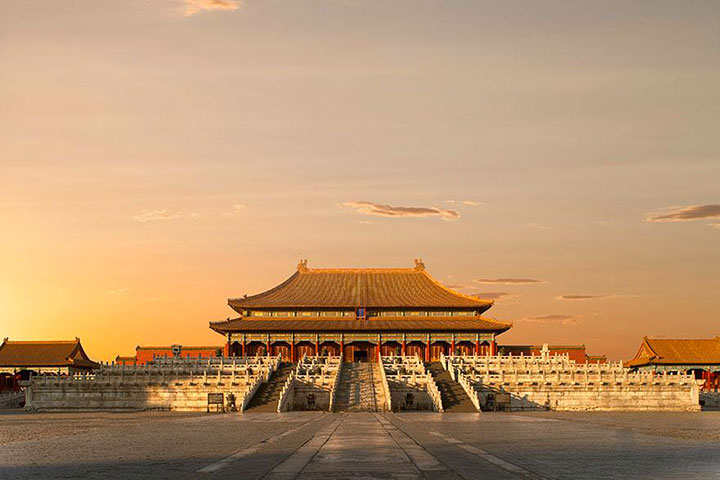 The Forbidden City-The real surroundings Of Famous Tourist Destination Monumentsstcard-15