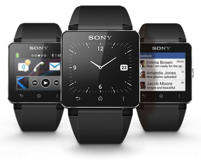 Smart watches from different companies