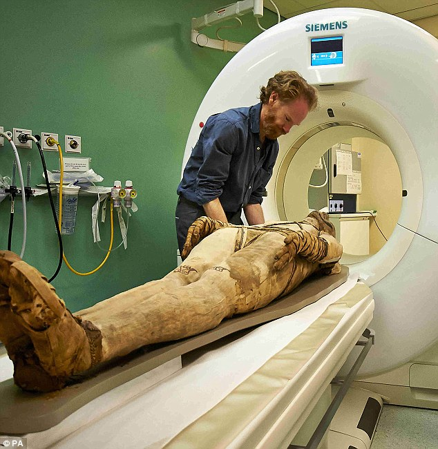 CT Scan of Mummies