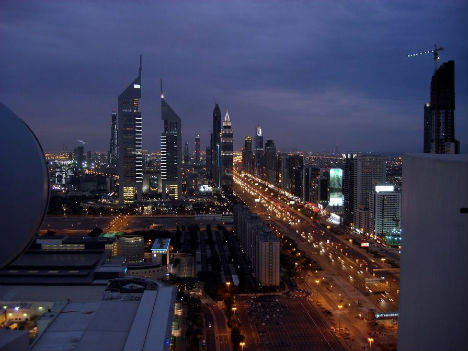 Dubai 1990 - 2003 - 2007-The Change In The Skyline Of World's Top 11 Most Famous Cities-