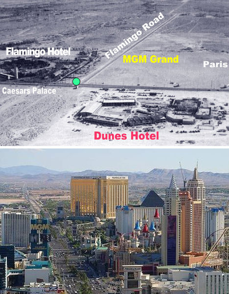 Las Vegas 1954 - 2009-The Change In The Skyline Of World's Top 11 Most Famous Cities-15