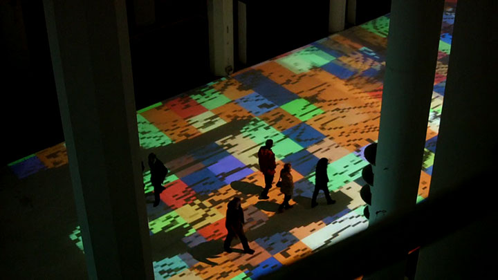 Enjoy Magical Walk On The Floor Of Sacre-Coeur Casablanca Illuminated By Thousands Of Colors-3