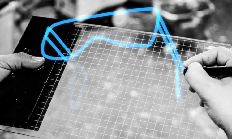 Gravity: A Tablet That Converts Drawings Into 3D Sketches -