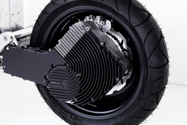 Rear Wheel of Johammer