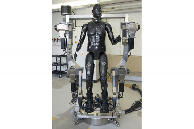 Porton Man: a dummy robot to test soldiers' suits