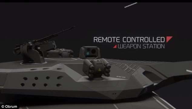 Polish made tank