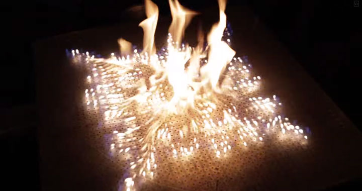 Pyro Board: A Board To Generate And Control 2500 Fires By Music-