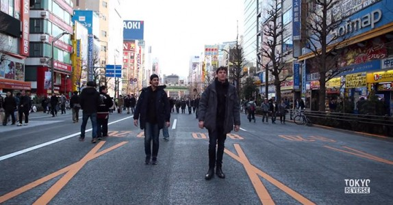 Reverse Tokyo: Imagine A World Where Everything Is Walking Reverse Except You-3