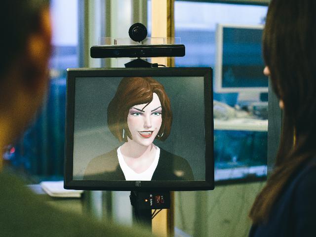 Microsoft Social Interacting Robot