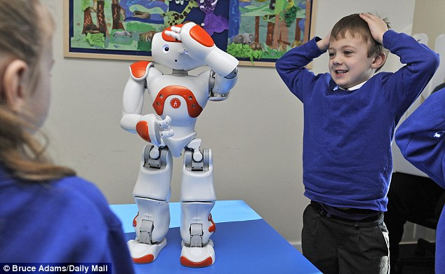 Social Skills Improved by robot teacher