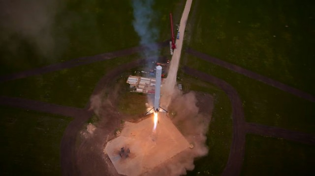 Watch The Spectacular Takeoff And Landing Of A Rocket As Filmed By A Drone (Video)-6