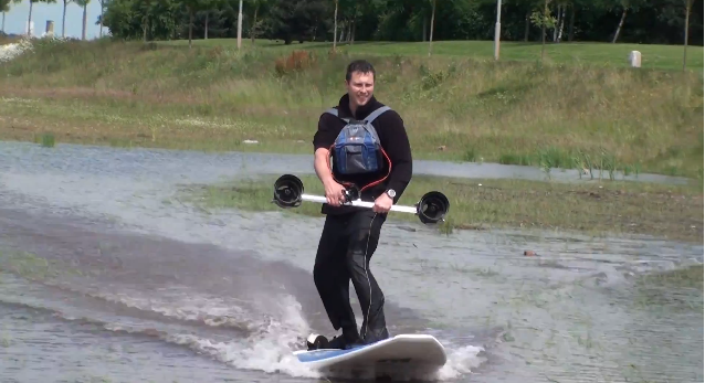 Surfing with Thruster