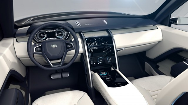 Gadgets of Range Rover Concept Car
