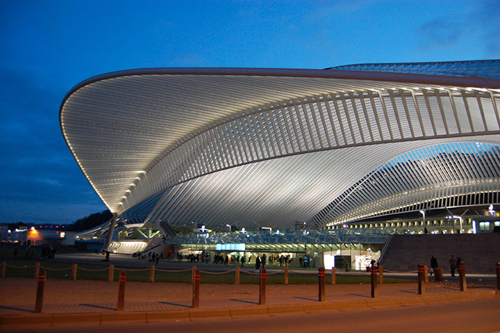 Gare Guillemins, Belgium-World's Top 6 Most Majestic And Beautiful Train Stations-