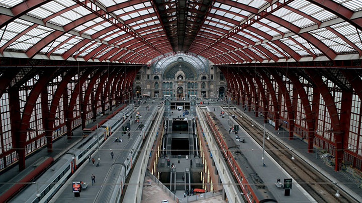 Antwerp Central Station, Belgium-World's Top 6 Most Majestic And Beautiful Train Stations-15