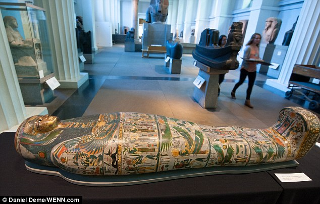 Tamut is one of eight Mummies placed in British museum