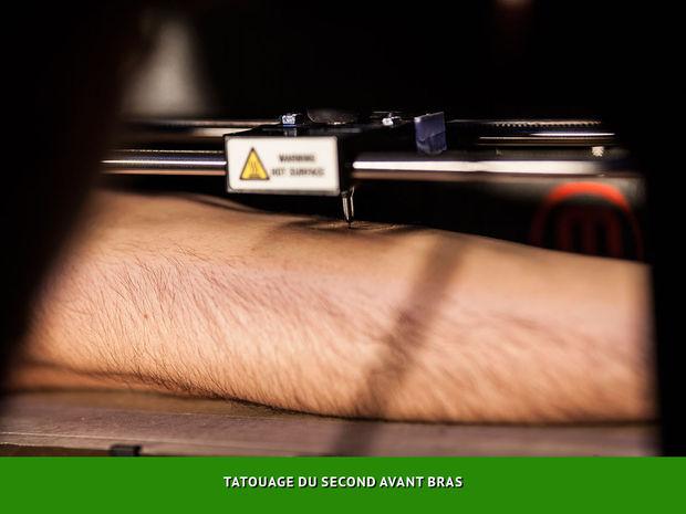 1st 3D Printed tattoo