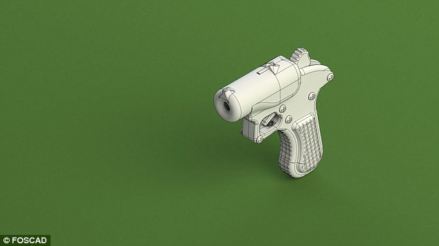 3D printed weapons