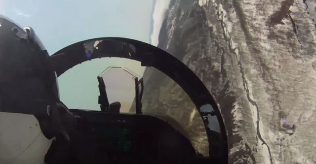 Place Yourself In The Cockpit Of A Fighter Plane Flying Over Japan (Video)-1