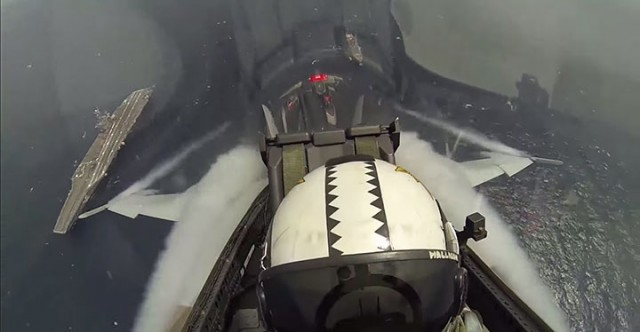 Place Yourself In The Cockpit Of A Fighter Plane Flying Over Japan (Video)-3