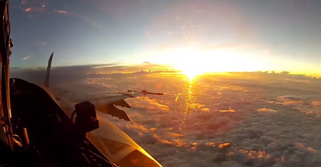 Place Yourself In The Cockpit Of A Fighter Plane Flying Over Japan (Video)-7