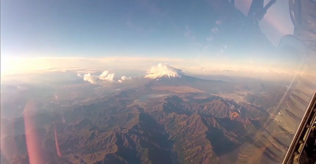 Place Yourself In The Cockpit Of A Fighter Plane Flying Over Japan (Video)-9