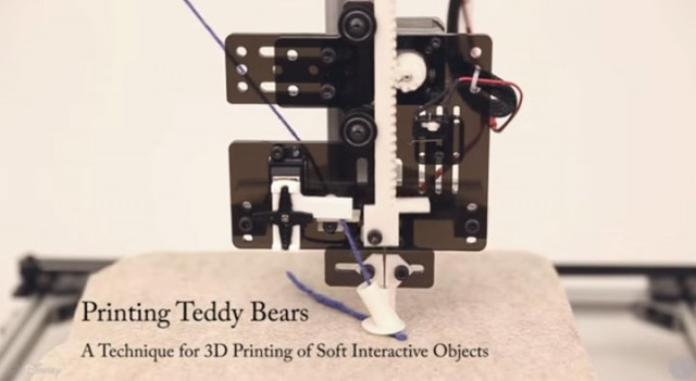 Disney Makes First Teddy Bears Made From Wool Using 3D Printing-1