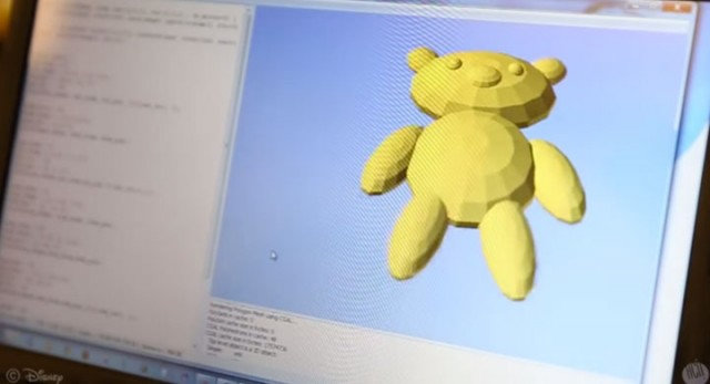 Disney Makes First Teddy Bears Made From Wool Using 3D Printing-5