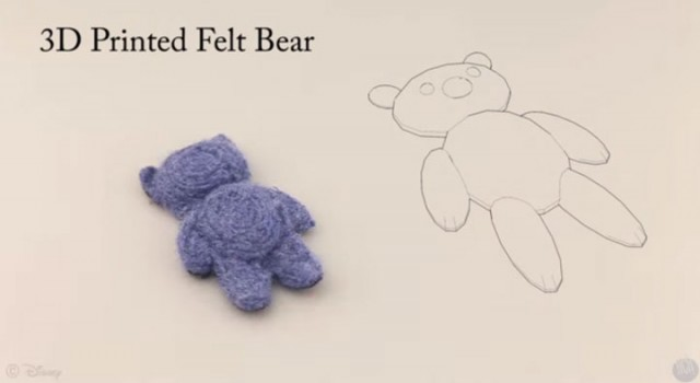 Disney Makes First Teddy Bears Made From Wool Using 3D Printing-6