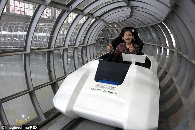 Dr. Ziganag super maglev tube