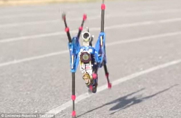 Fastest running robot