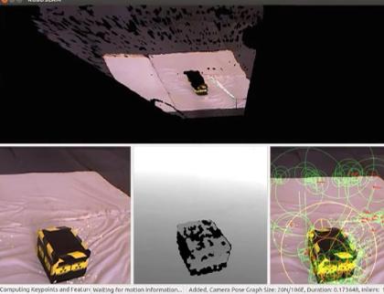 Flying 3D printer drone