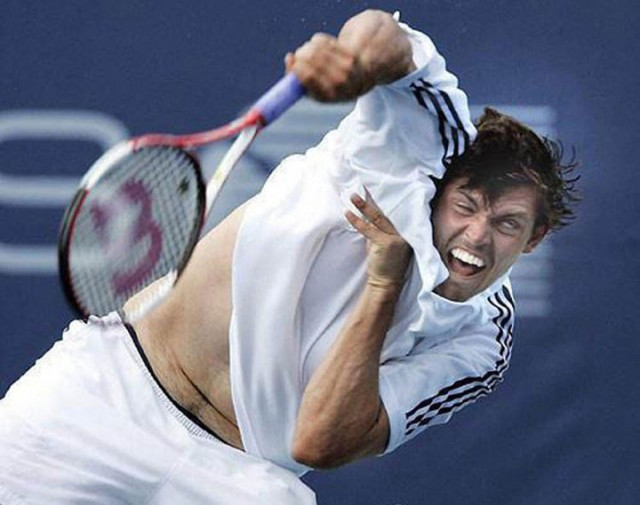 Top 22 Funny Photos Of Sportsmen Taken At Worst Time-21
